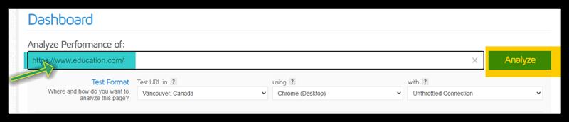 روش قرار دادن آدرس سایت در آدرس بار